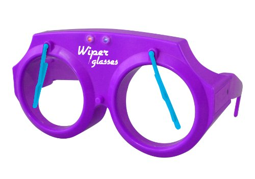 Daron Wiper Glasses With Purple Lights