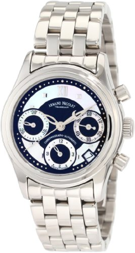 Armand Nicolet Women's 9154A-NN-M9150 M03 Classic Automatic Stainless-Steel Watch