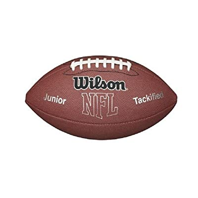 Wilson Nfl Mvp Jr. Football With Pump And Tee TEJ