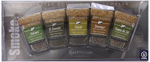 Limited Edition Artisan Salt Sampler W/3 Bowls - Smoke