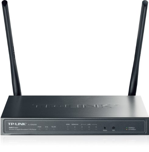 Tp-Link Tl-Er604W Safestream Wireless N300 Gigabit Broadband Vpn Router, Load Balance, Ipsec/Pptp/L2Tp Vpn, 300Mbps Wireless N Speed