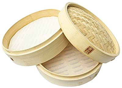 Zoie + Chloe 100% Natural Bamboo Steamer Basket