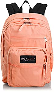 JanSport Big Student Backpack Coral Peaches - JanS