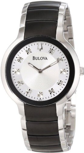 Bulova Men's 98D118 Diamond  Watch