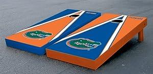 Florida UF Gators Cornhole Game Set Alt Triangle Gator Version Corn Hole by Gameday Cornhole