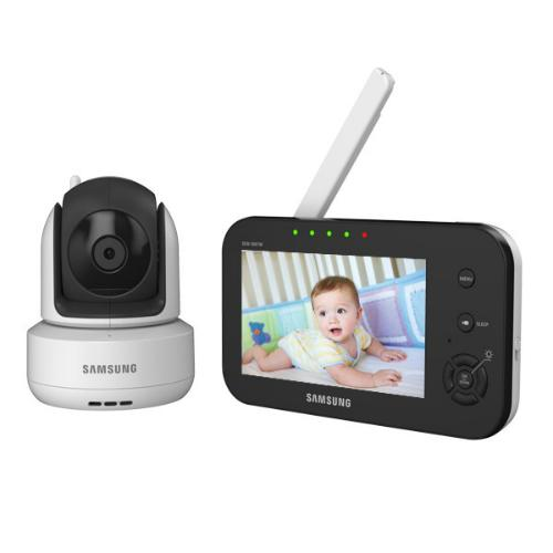 brilliantview wireless pan tilt zoom video baby monitor 4 3. Black Bedroom Furniture Sets. Home Design Ideas