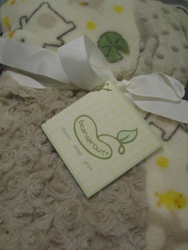 Beansprout Soft Multi-colored Baby Blanket