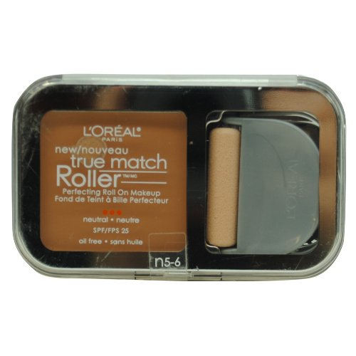 L'Oreal Paris True Match Roller, N5-6 True Beige/Honey Beige, 0.30 Ounce