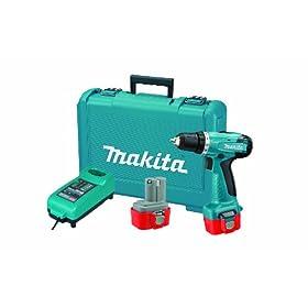 Makita 6261DWPE 9.6-Volt Ni-Cd Cordless 3/8-Inch Driver/Drill Kit