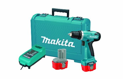 Makita 6261DWPE 9.6-Volt Ni-Cd Cordless 3/8-Inch Driver/Drill Kit