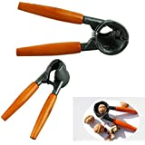 Voberry® Extra Heavy Duty Nut Pecan Cracker Nutcracker Nut Sheller Walnut Pliers Nut Metal Opener Nut Tool (1)