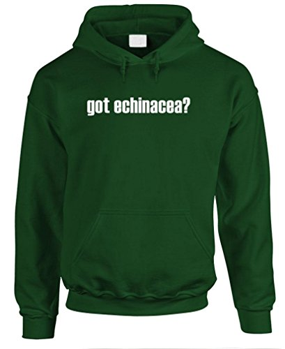 Got Echinacea? - Mens Pullover Hoodie, S, Forest