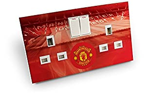 inToro Manchester United FC Double Plug Socket Skin