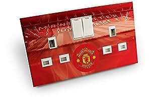 inToro Manchester United FC Double Plug Socket Skin