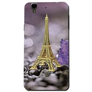 Kaira brand Designer Back Case Cover for Micromax YU yureka (Eiffel-Tower)