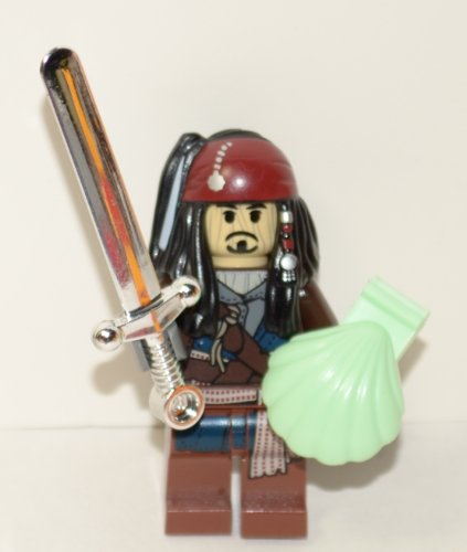 Buy Low Price LEGO Rare Voodoo Exclusive Jack Sparrow Pirates of the Caribbean Includes: Rare Voodoo Jack,-lego Mini Figure (B0058XOBI6)