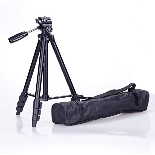 54-Inch-Professional-Lightweight-Aluminum-Camera-Tripod-for-Pro-Digital-DSLR-Canon-Nikon-Sony-Cameras-with-Tripod-Bag