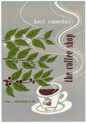 Hotel Commodore The Coffee Shop Menu San Francisco California 1953