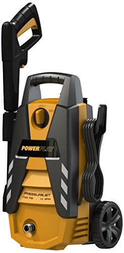 Powerplay Pjr1400 Pressurejet 1400 Psi Annovi Reverberi Axial Pump Electric Pressure Washer With 1.4-Gpm Flow Rate, 120-Volt