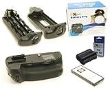 Ex-Pro® Power Grip Nikon MB-D14 VALUE KIT (EN-EL15) Series for Nikon D600, with Infrared remote & 1 x EN-EL15 Ex-Pro Battery Decoded Lithium Battery