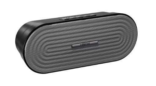 Hmdx Rave Portable Rechargeable Wireless Speaker, Grey