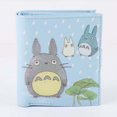 Totoro Totoro cosplay anime chipped accessory animation Totoro props toy gift short wallet Wallet