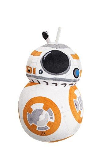 Joy Toy 1500077 - Pupazzo in Velboa del droide BB-8, Star Wars E7, 17 cm