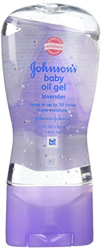 Johnson's Baby Oil Gel, Lavender 6.5 oz (182 g) - 1