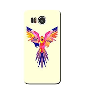 DIGITAL PARROT BACK COVER FOR GOOGLE NEXUS 5X
