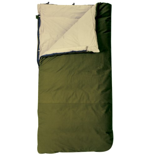 Slumberjack Country Squire 20 Degree Long Right Hand Zip Sleeping Bag, Outdoor Stuffs