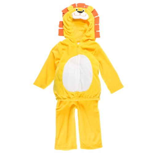 Carter's Halloween Costume Lion Yellow Orange 2 Pieces NEW Baby Toddler