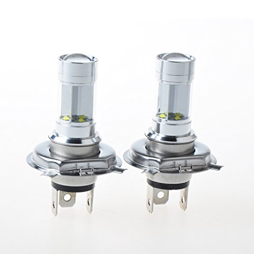 Suparee Car Fog Lights 2Pcs 40W Per Pc H4 Cree Led Inside High Power Fog Light Super Bright Bulbs Lamp Source Replacement For Auto High Quality