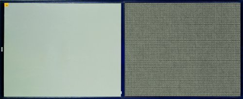 "Andersen 411 Medium Grey Polypropylene Clean Stride Mat With Carpet, 46"" Length X 36-1/2"" Width, For Interior front-432325"