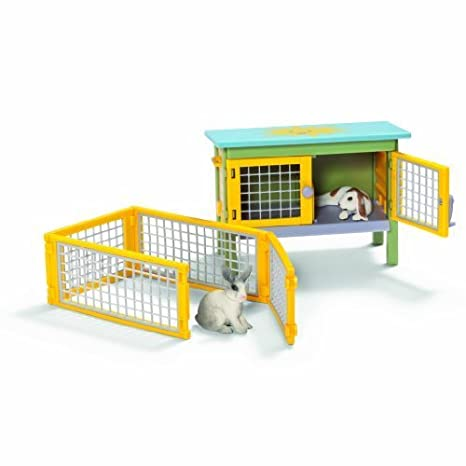 Schleich Rabbit Scenery Pack by Schleich TOY (English Manual)