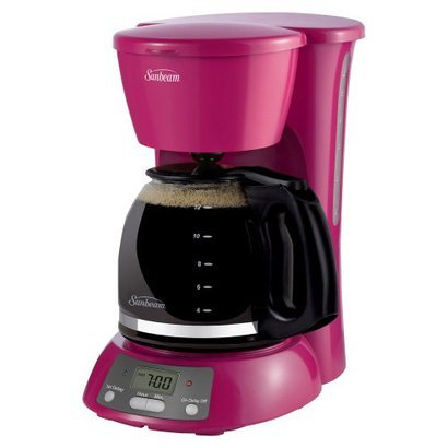 Pink Mold Coffee Maker : hunterthreetonawanda