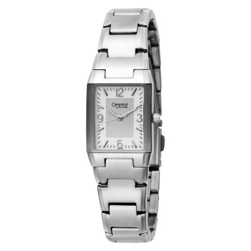Caravelle by Bulova Women's 43T12 Bracelet Silver and White Dial Watch