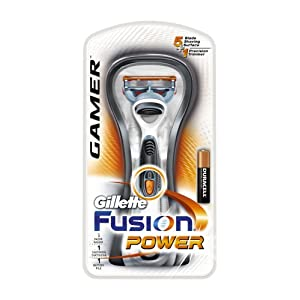 Gillette Razor Manual Fusion Gamer