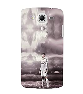 EPICCASE Football Mobile Back Case Cover For Samsung Galaxy Mega 5.8 I 9150 (Designer Case)