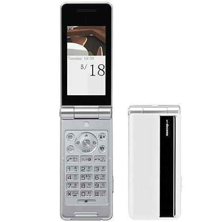 新品 P-07B ホワイト 携帯電話 白ロム ドコモ docomo