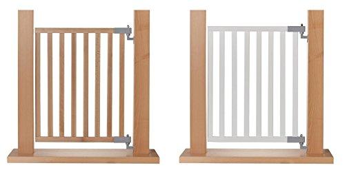 Bild von: Impag® Treppenschutzgitter Absperrgitter Türschutzgitter Buche Massivholz 65 - 115 cm, Extrahoch 90 cm JB
