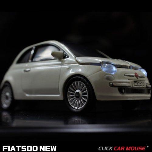 クリックカープロダクト モーターショーで話題!FIAT500NEW 無線マウス CLICK CAR MOUSE