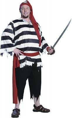 Cabin Boy Men's Costume Adult Halloween Outfit