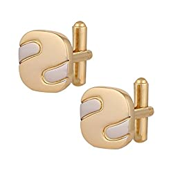 Park Avenue Light NA Cufflinks ( 8907252327393_PZMP01685-X1_STD_Light NA)