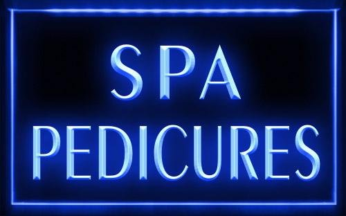 C B Signs Beauty Care Spa Pedicures Led Sign Neon Light Sign Dispay