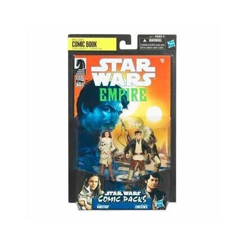 Star Wars 2010 Comic Book Action Figure 2Pack Dark Horse Star Wars Empire #8 Camie Marstrap and Laze Fixer Loneozner by Hasbro