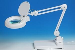 goldiflora optics 8606d d desk work magnifier with cold. Black Bedroom Furniture Sets. Home Design Ideas