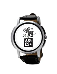 PosterGuy Aries Zodiac Sign Men's Wrist Watches