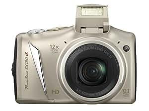 Canon PowerShot SX 130 IS Digitalkamera (12 Megapixel, 12-fach opt. Zoom, 7,5 cm (2,95 Zoll) Display, bildstabilisiert ) silber