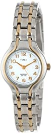 Timex Womens T27191 Elevated Classics Dress Sport Chic Two-Tone