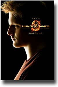 Hunger Games Poster - Promo Flyer 2012 Movie - 11 X 17 - Alexander Ludwig Cato